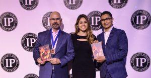INDEPENDENT PUBLISHER BOOK AWARDS 2017 - Bronze Medal Winner - Cover Design - Fiction - Jerusalem Ablaze